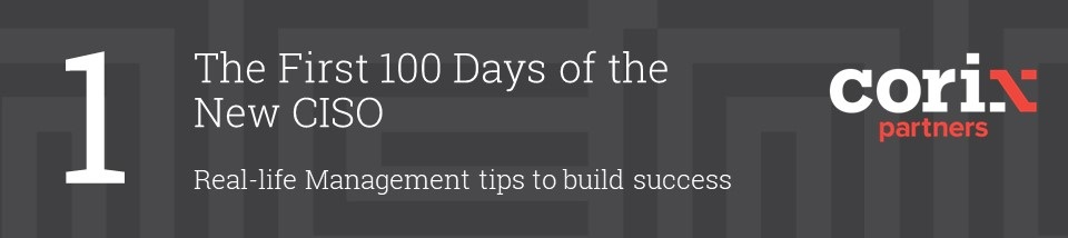 100 days of the CISO