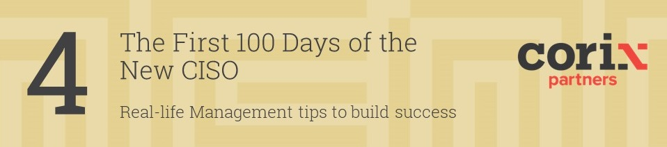 100 Days of the New CISO part 4