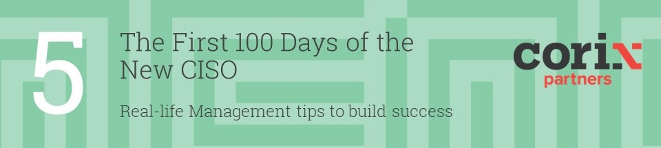 100 Days of the New CISO part 5