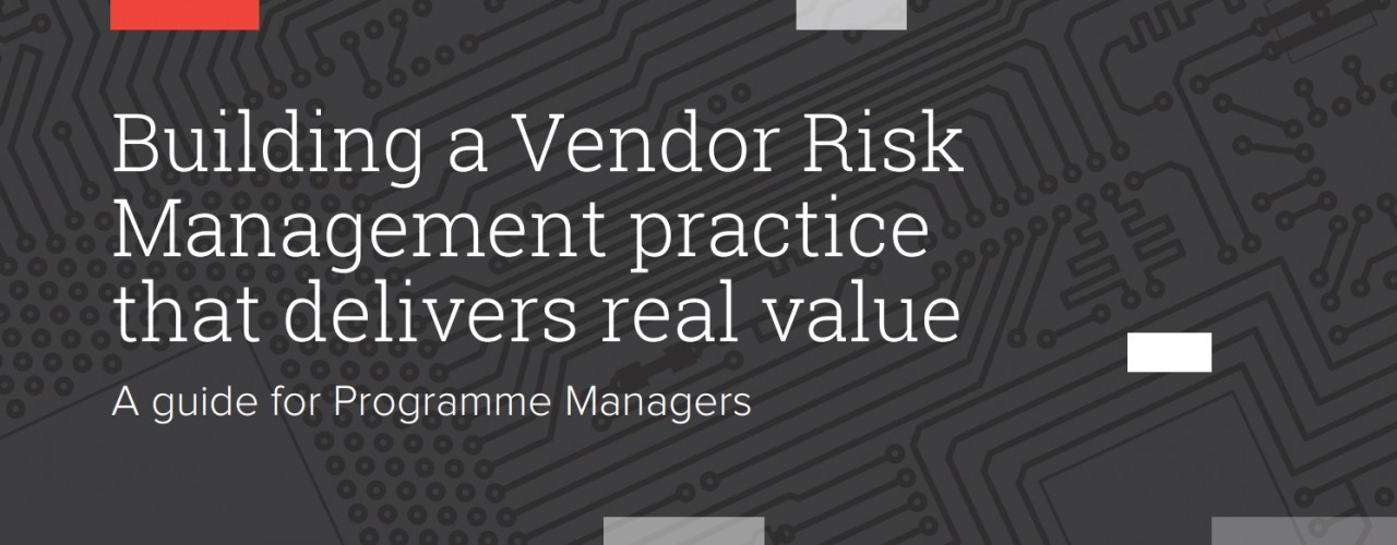 vendor risk management white paper