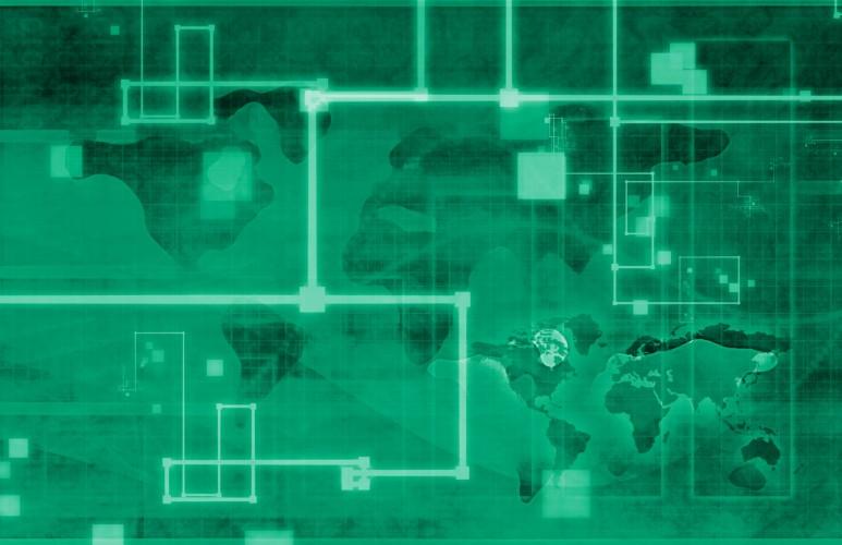 Green map overlay