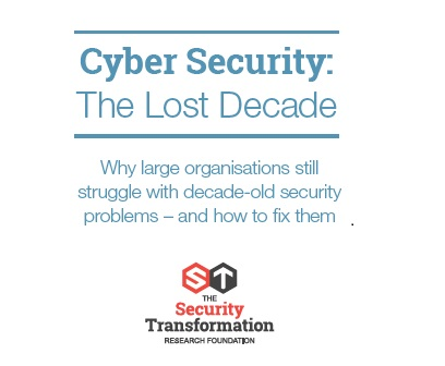 Cyber Security Lost Decade 2018