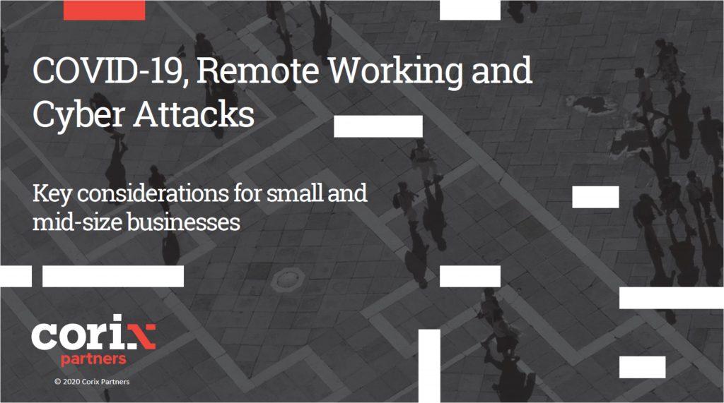 covid remote working cyber attacks